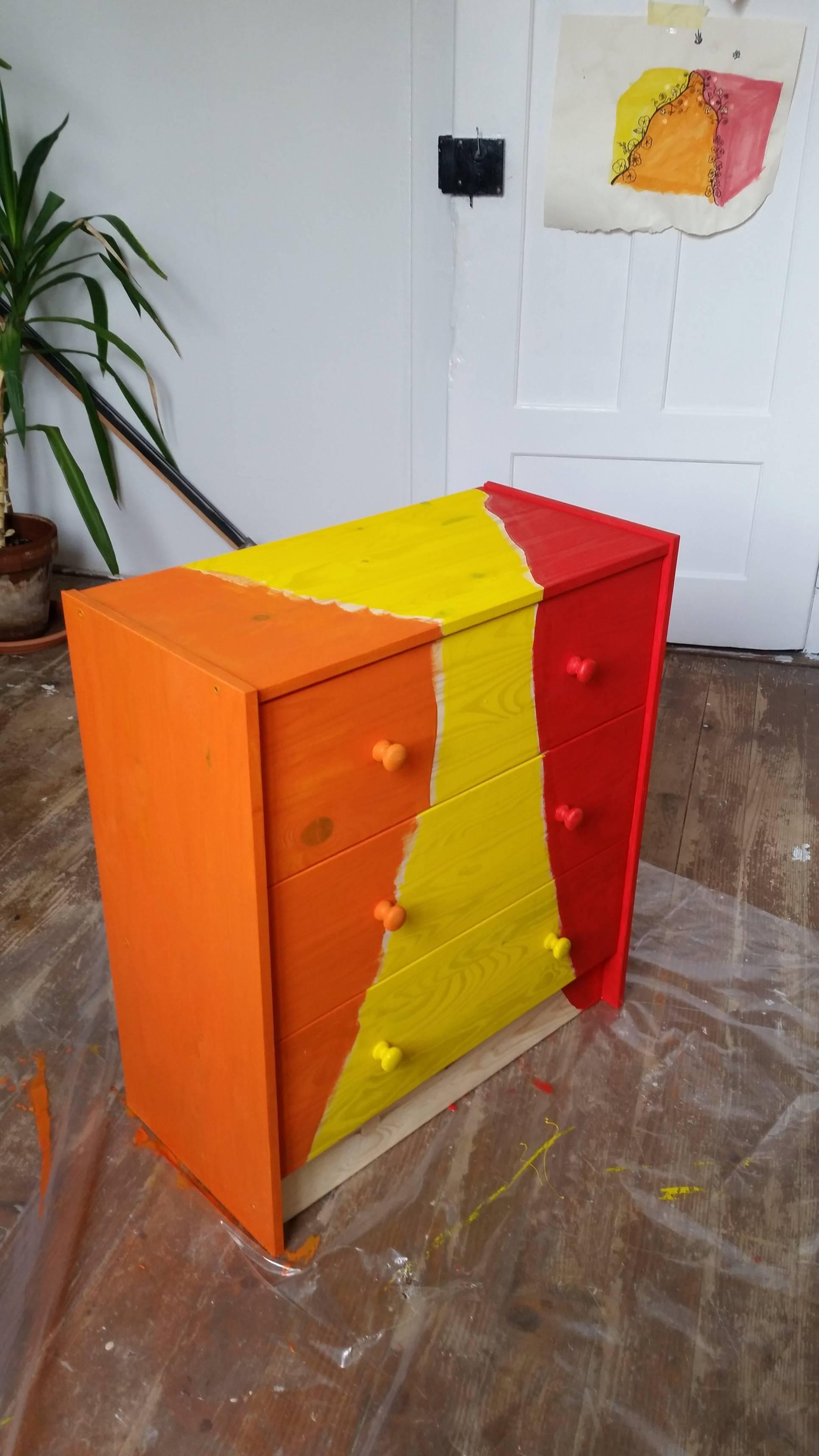 Handbemalte Mobel Handgeschilderde Meubels Handpainted Furniture